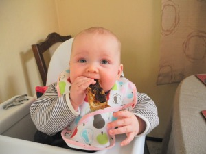 I'm proud to say Eloise is a vegemite kid!