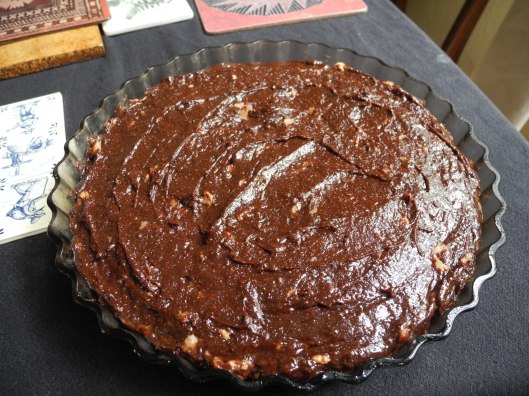 Ta da!  Chocolate-pineappley goodness